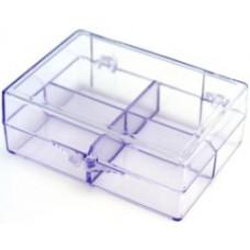 808 Bobbin Storage Plastic Box - 12 Bobbins
