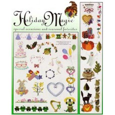 Singer Embroidery Design Memory Card #VII Large Holiday 387185