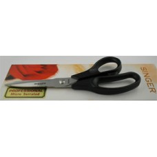 "8-1/2"" Left Hand Singer Scissors with Comfort Handle, Serrated blades"